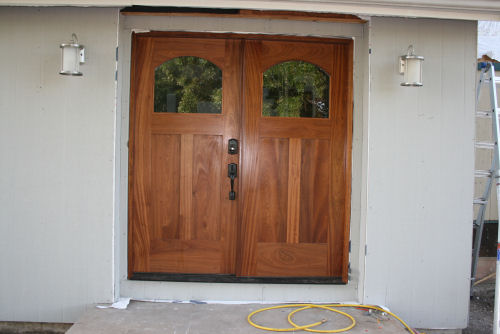 It took most of those two weeks to get the front of the house put back together and the front doors installed. I varnished the doors. & Photo Album 2 - Vacations pezcame.com